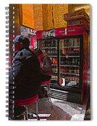 Coca Cola Lunch Spiral Notebook