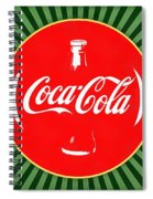 Coca Cola Pop Art  Spiral Notebook