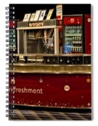 Coca Cola Refreshment Stand Spiral Notebook