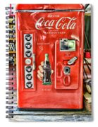 Coca-cola Retro Style Spiral Notebook