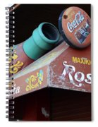Coca Cola Sign Buenos Aires Spiral Notebook