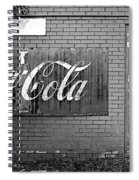 Coca-cola Sign Spiral Notebook