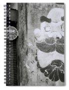 Cochin Cartoon Spiral Notebook