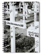 Cochin Cemetery  Spiral Notebook