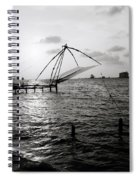 Dusk At Cochin Spiral Notebook