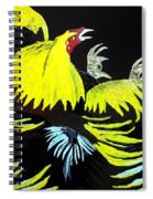 Cock Fight Or Flight Spiral Notebook