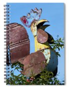 Cock Of The Roost Spiral Notebook