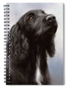 Cocker Spaniel Painting Spiral Notebook