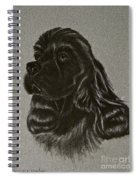 Cocker Spaniel Spiral Notebook