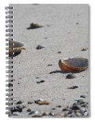 Cockle Shells On Little Island Spiral Notebook