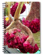 Cockscomb Spiral Notebook