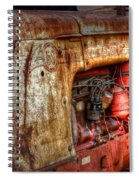 Cockshutt Tractor Spiral Notebook
