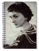 Coco Chanel Spiral Notebook