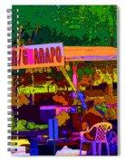 Coco Frio Spiral Notebook