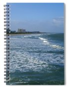 Cocoa Beach Seascape Spiral Notebook