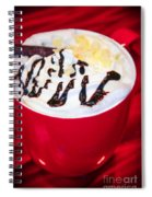 Cocoa Java Coconut Bliss Spiral Notebook