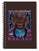 Cocoa The Cyber Monkey Spiral Notebook