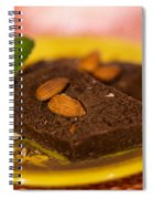 Coconut Almond Squares Spiral Notebook