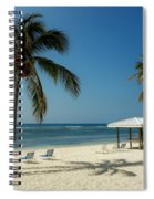 Coconut Beach  Spiral Notebook