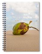 Coconut Spiral Notebook
