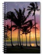 Coconut Island Sunset - Hawaii Spiral Notebook
