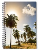 Coconut Trees Spiral Notebook