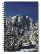 Cody Peak After A Snow Spiral Notebook