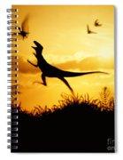 Coelurus Spiral Notebook