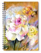 Coeur De Rose Spiral Notebook