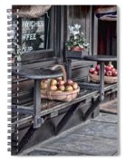 Coffe Shop Cafe Spiral Notebook