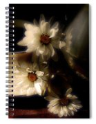 Coffee And Daisies  Spiral Notebook