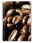 Coffee Beans Spiral Notebook