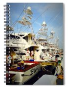 Coffee Boats Spiral Notebook