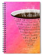 Coffee Cup The Jetsons Sorbet Spiral Notebook