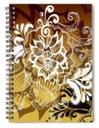 Coffee Flowers 10 Calypso Spiral Notebook