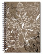Coffee Flowers 11 Spiral Notebook