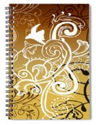 Coffee Flowers 5 Calypso Spiral Notebook