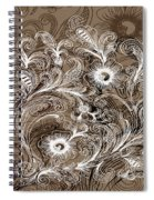 Coffee Flowers 6  Spiral Notebook