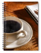 Coffee For The Writer Spiral Notebook