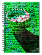 Coffee Lovers Diary 5d24472p108 Spiral Notebook