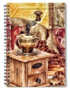 Coffee Mill Spiral Notebook