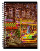 Coffee On The Way Home Spiral Notebook