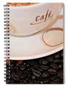 Coffee Rush Spiral Notebook