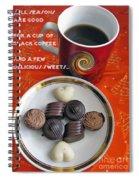 Coffee Season Spiral Notebook