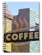 Coffee Shop Spiral Notebook