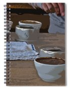 Coffee Tasting Spiral Notebook