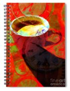 Coffee Time My Time 5d24472m12 Spiral Notebook