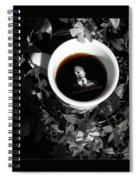 Coffee With Alfred Spiral Notebook