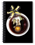 Coffee With The Munsters Spiral Notebook