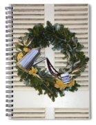 Coffee Wreath Spiral Notebook